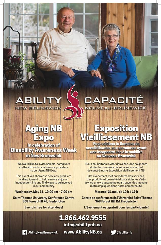 Ability NB Aging Expo May 31