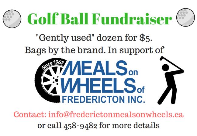golf ball fundraiser 2017