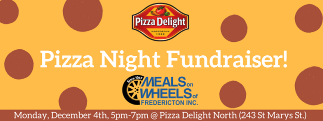 Pizza Night Fundraiser!