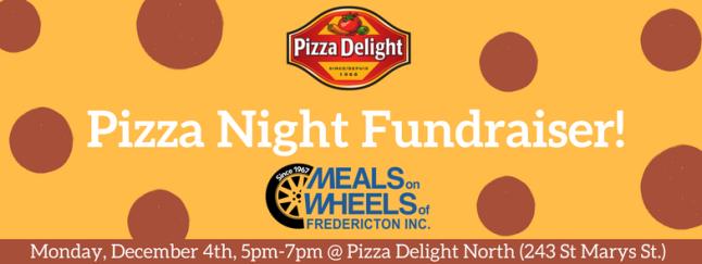 Pizza Night Fundraiser!